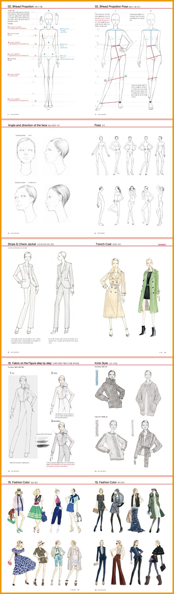 패션 드로잉 베이직(Fashion Drawing Basic) 도서 상세이미지