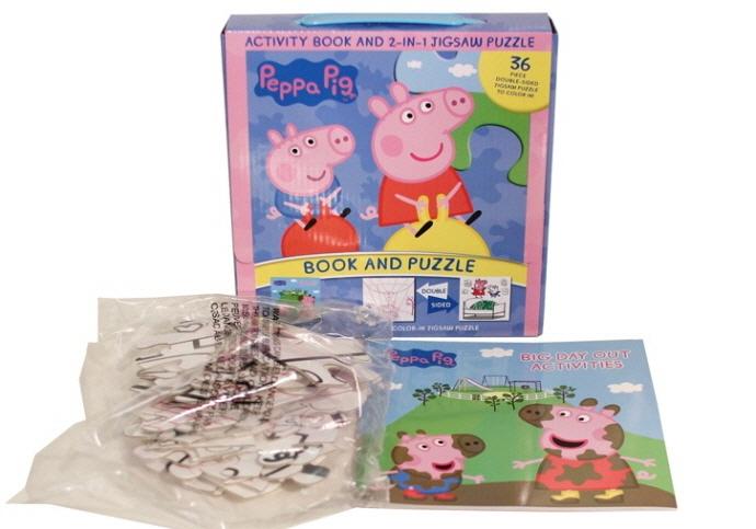Peppa Pig 2-In-1 Puzzle Pack 도서 상세이미지