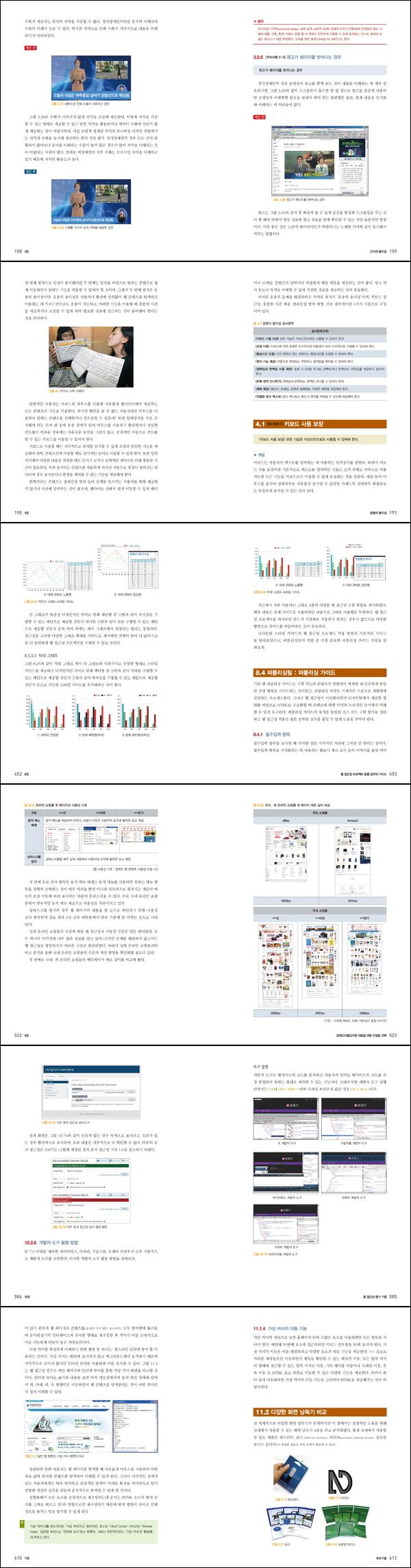 웹 접근성과 품질인증(장애인차별금지법 대응을 위한)(에이콘 웹 프로페셔널 시리즈 63) 도서 상세이미지