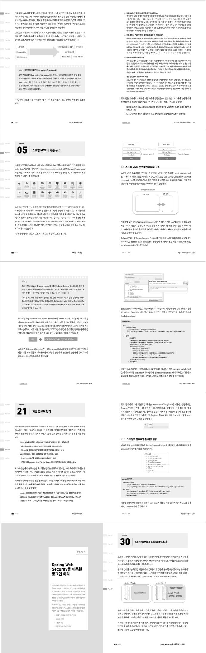 코드로 배우는 스프링 웹 프로젝트(개정판) 도서 상세이미지