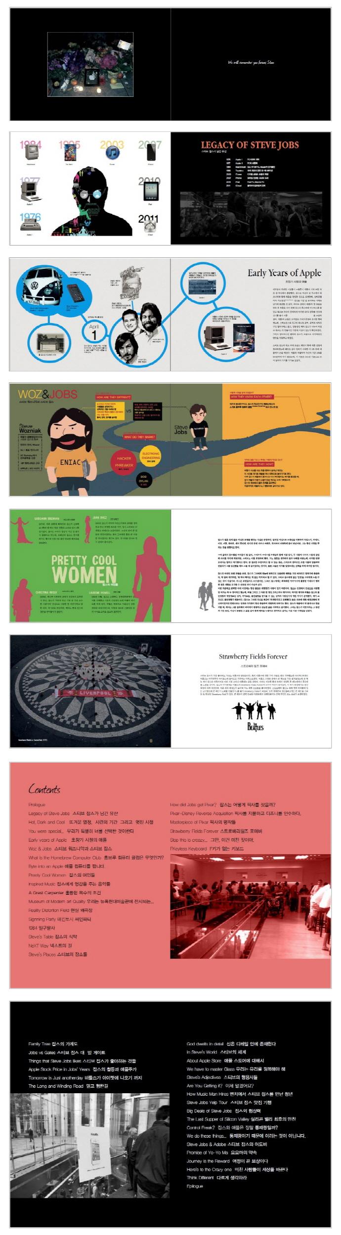 스티브 잡스 스토리 그래픽(Steve Jobs Story Graphics) 도서 상세이미지