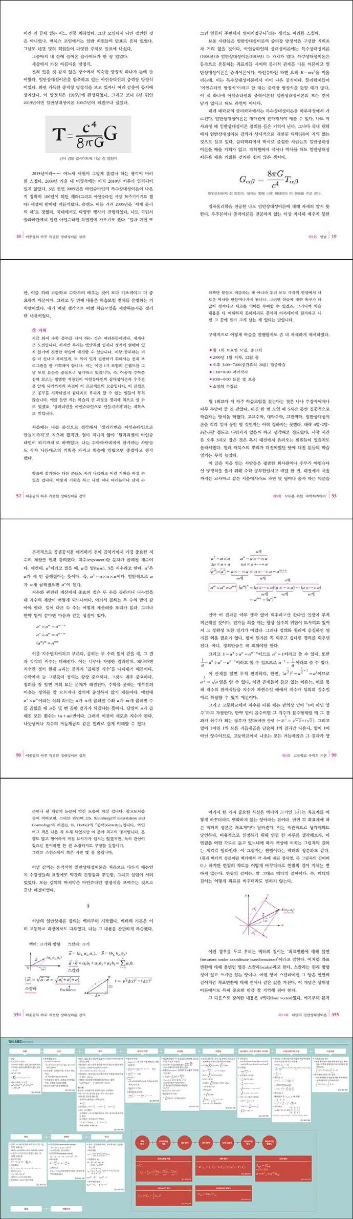 이종필의 아주 특별한 상대성이론 강의 도서 상세이미지