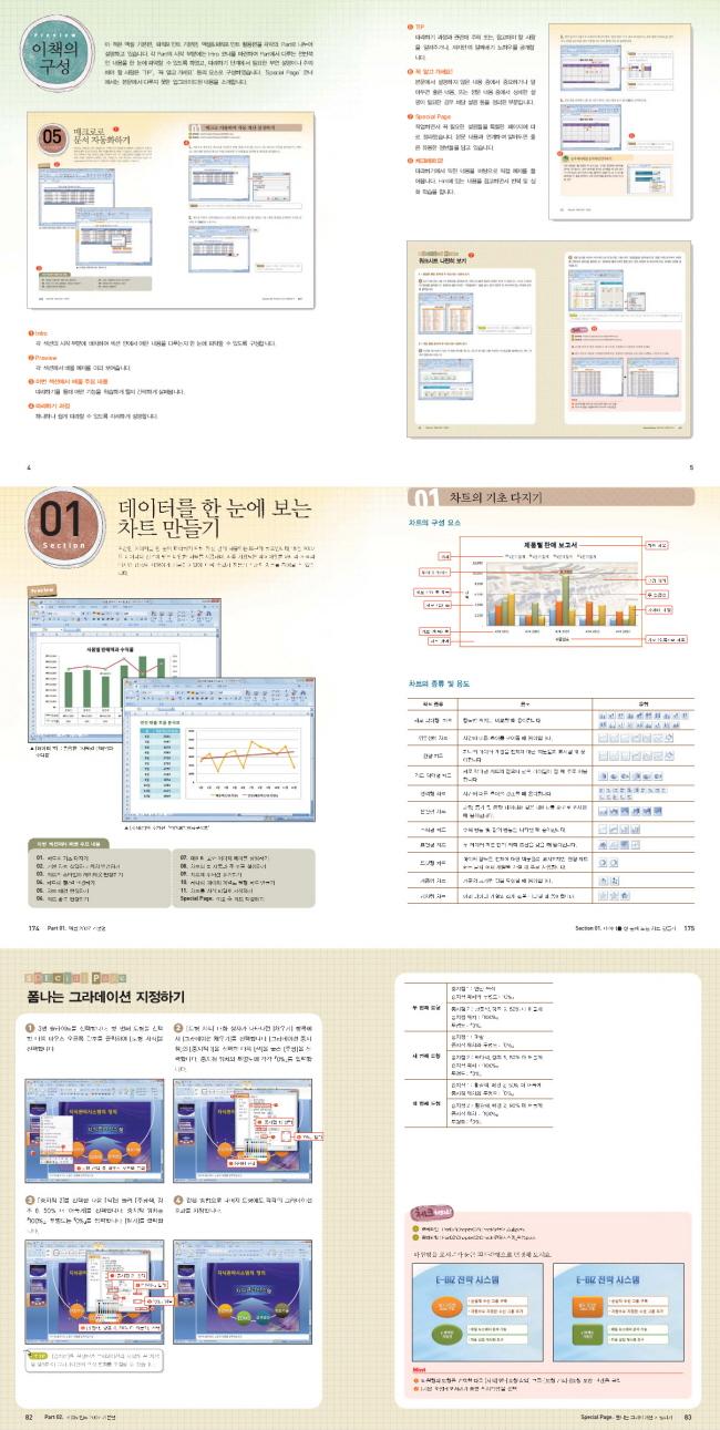 엑셀 파워포인트 2007(환상의 콤비)(다양한 실무 예제로 배우는)(CD1장포함) 도서 상세이미지