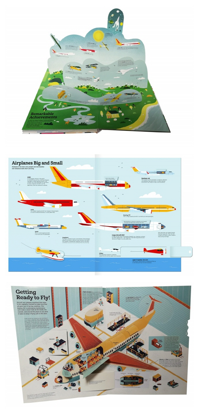 The Ultimate Book of Airplanes and Airports ( Ultimate Book 5 ) 도서 상세이미지