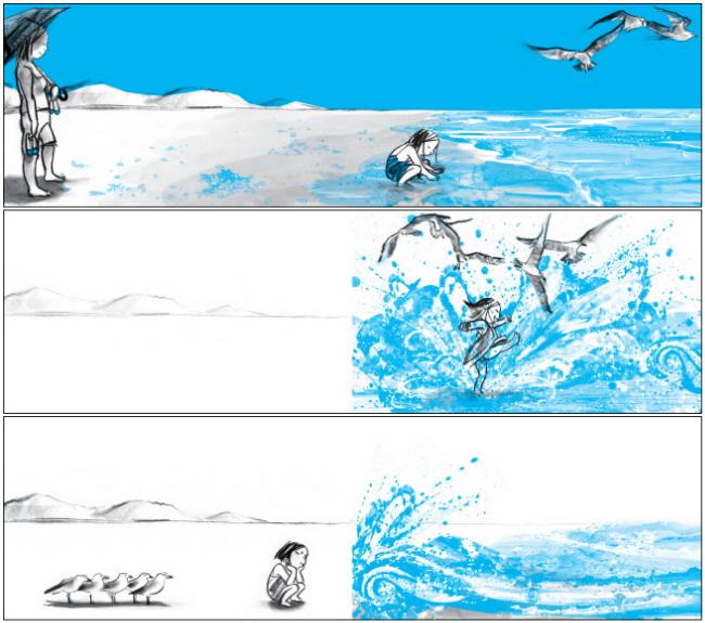 파도야 놀자(비룡소의 그림동화 204)(양장본 HardCover) 도서 상세이미지