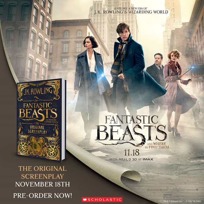 Fantastic Beasts and Where to Find Them (미국판) 도서 상세이미지
