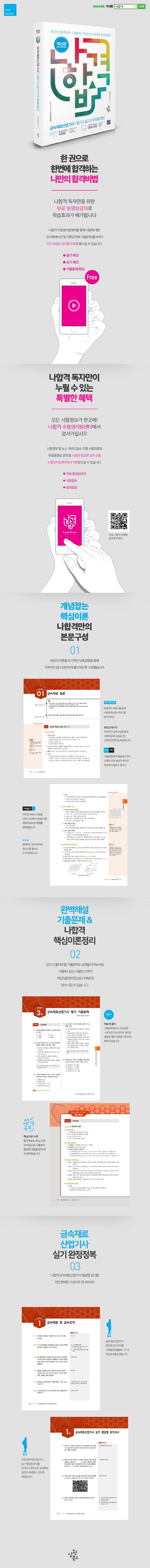 금속재료산업기사 필기+실기+무료동영상(2020)(나합격) 도서 상세이미지