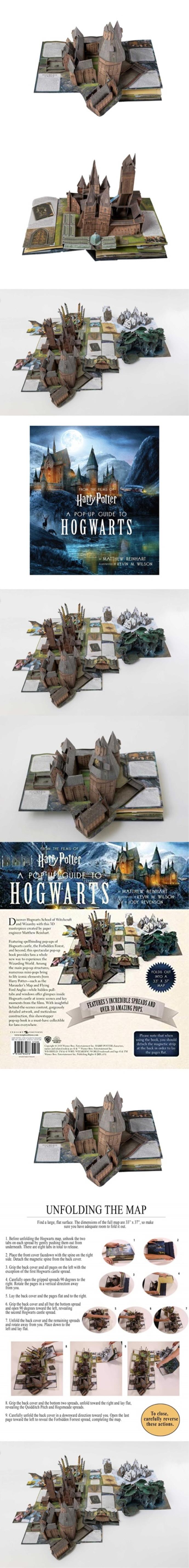 Harry Potter: A Pop-Up Guide to Hogwarts 도서 상세이미지