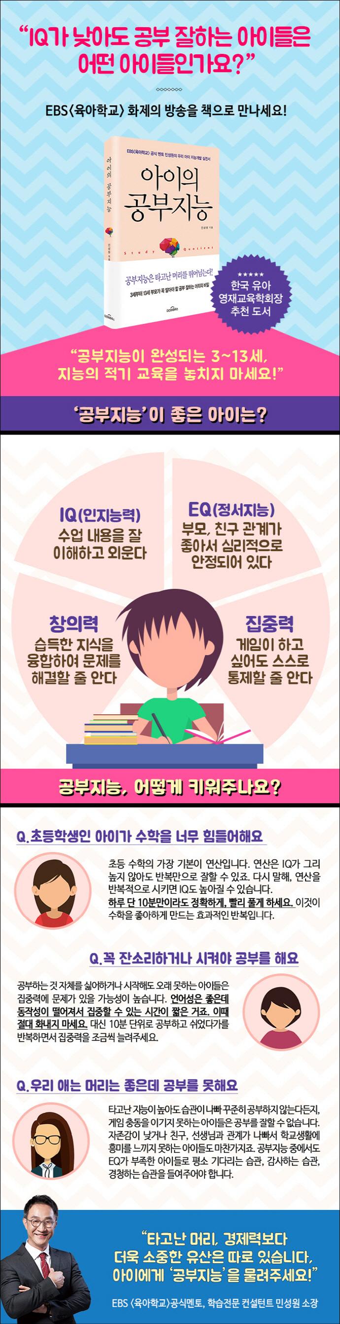 아이의 공부지능 도서 상세이미지