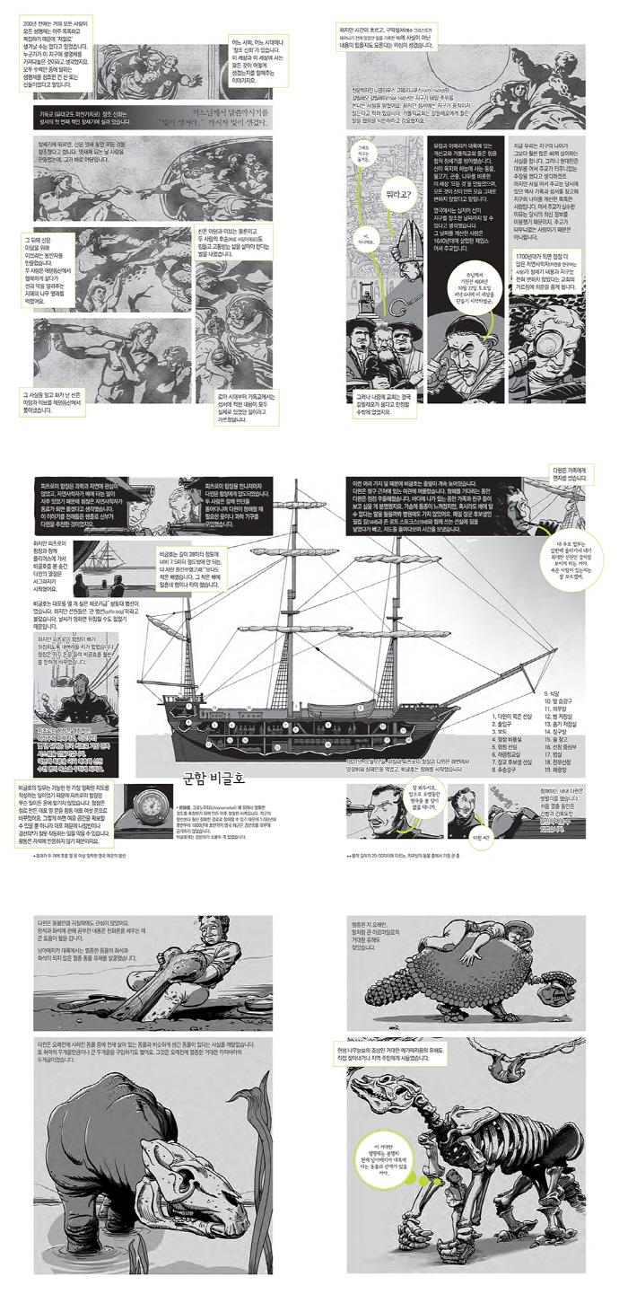 찰스 다윈: 그래픽 평전 도서 상세이미지
