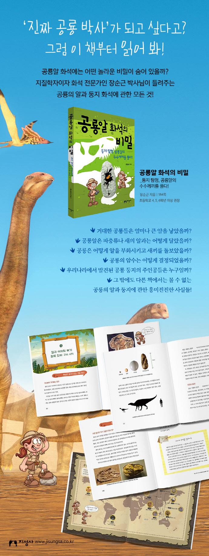 공룡알 화석의 비밀 도서 상세이미지