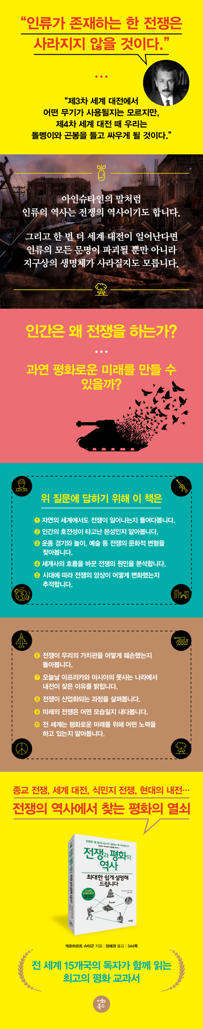 전쟁과 평화의 역사, 최대한 쉽게 설명해 드립니다(누구나 교양 시리즈 3) 도서 상세이미지