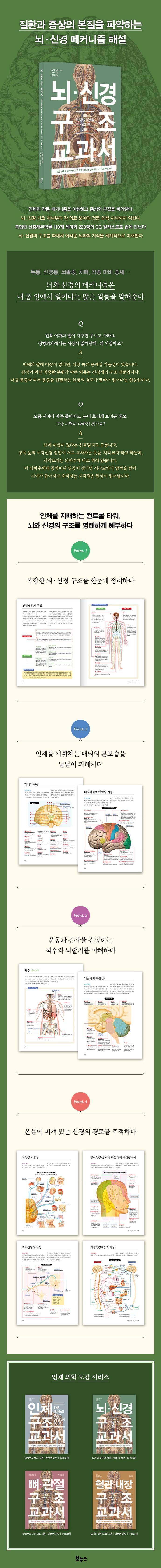 뇌 신경 구조 교과서(지적생활자를 위한 교과서 시리즈) 도서 상세이미지