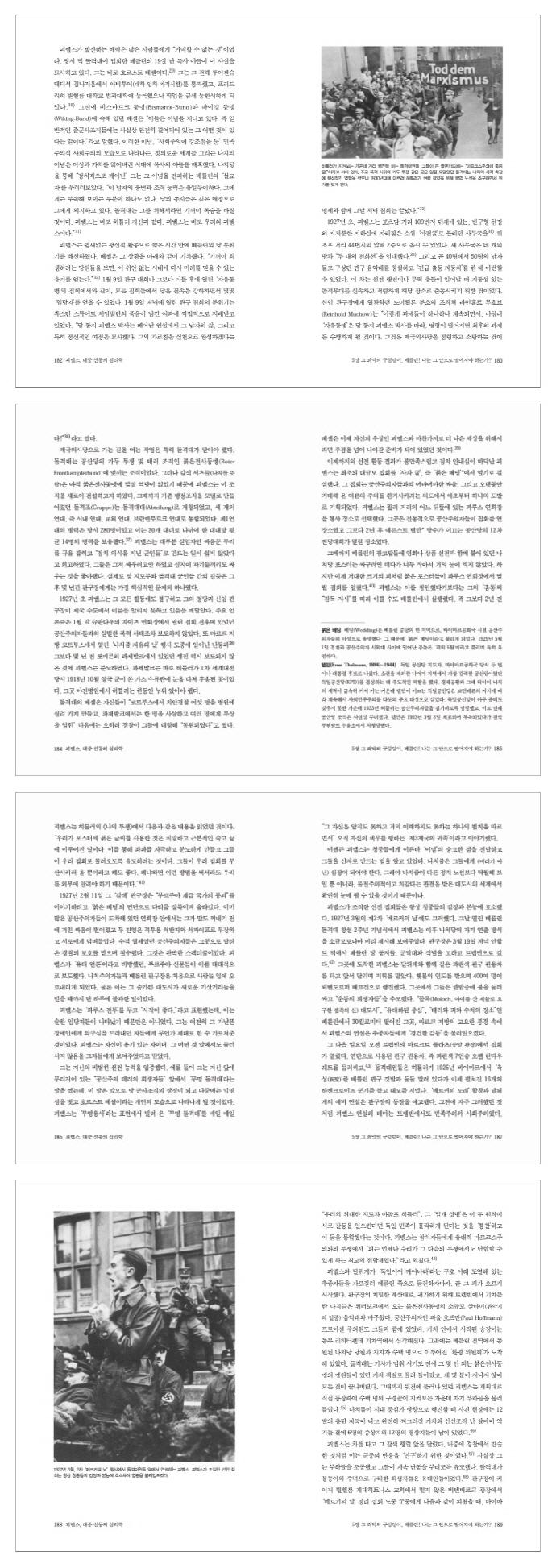 괴벨스 대중 선동의 심리학(문제적 인간 2) 도서 상세이미지