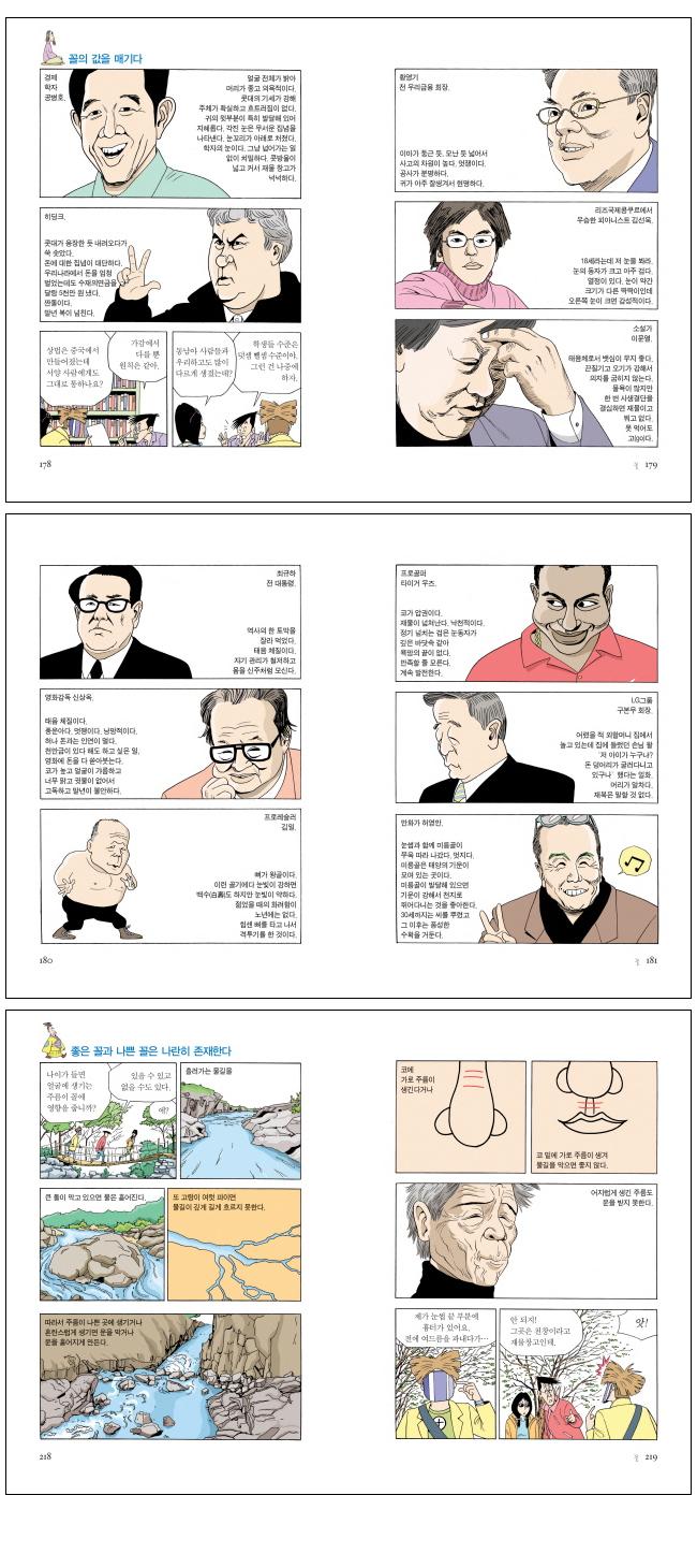 허영만 꼴. 1: 얼굴을 보고 마음을 읽는다(허영만의 관상만화 시리즈) 도서 상세이미지