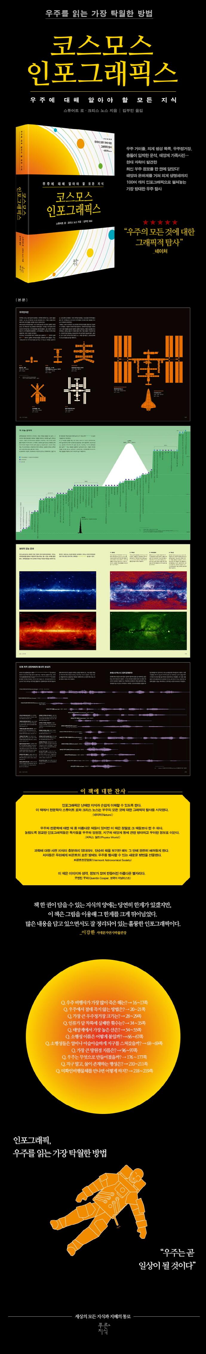 코스모스 인포그래픽스(그래픽 로직 12)(양장본 HardCover) 도서 상세이미지