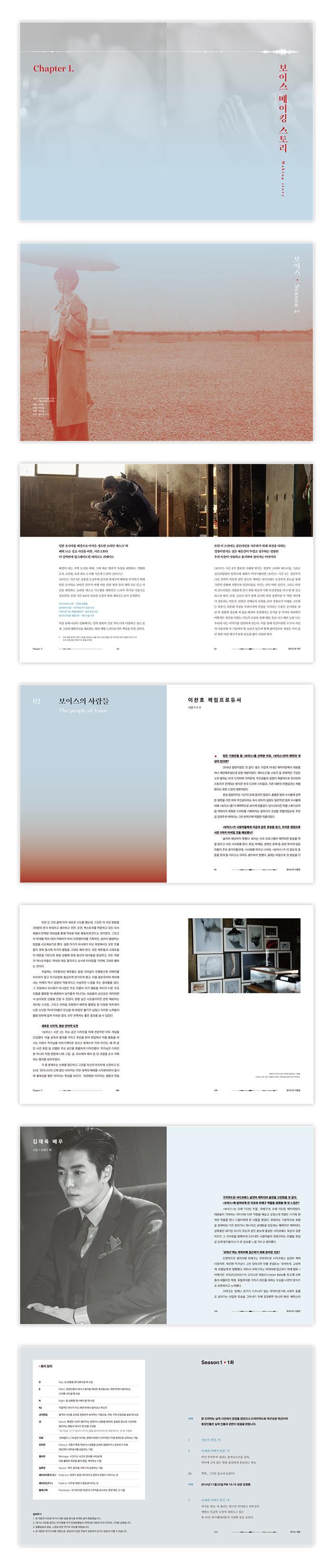 보이스 메이킹 스토리 & 대본집 도서 상세이미지