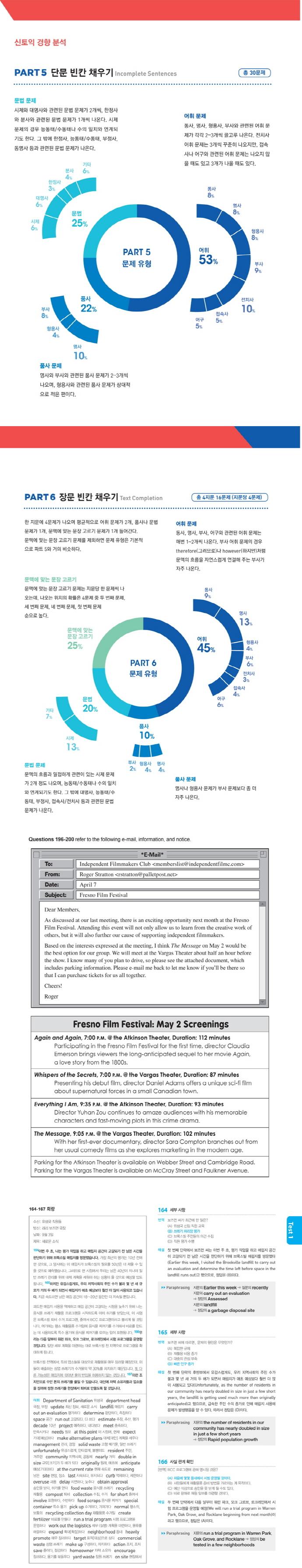YBM 실전토익 RC 1000. 2(고득점 대비) 도서 상세이미지