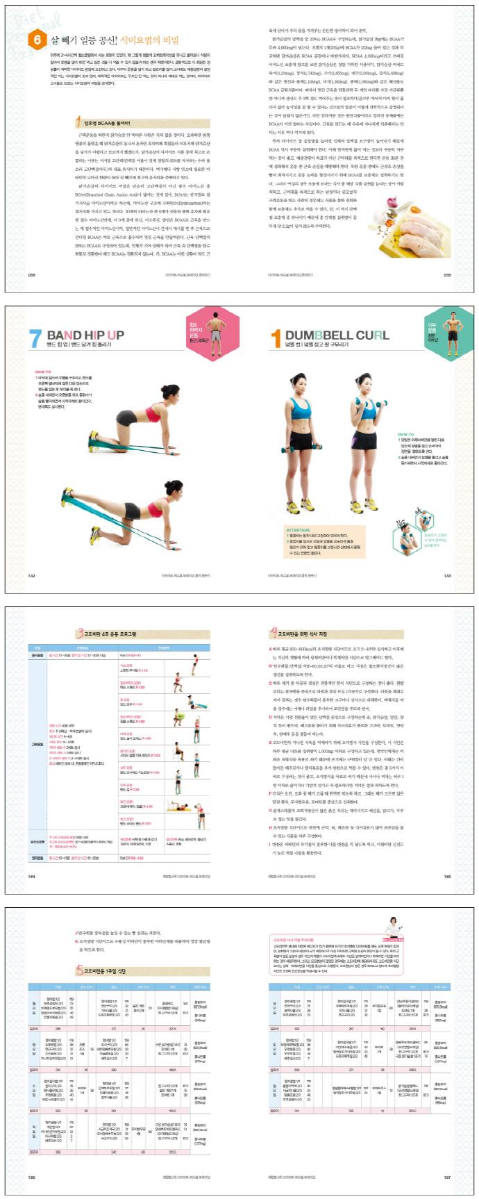 다이어트 퍼스널 트레이닝(34kg 감량 신화 이경영의) 도서 상세이미지
