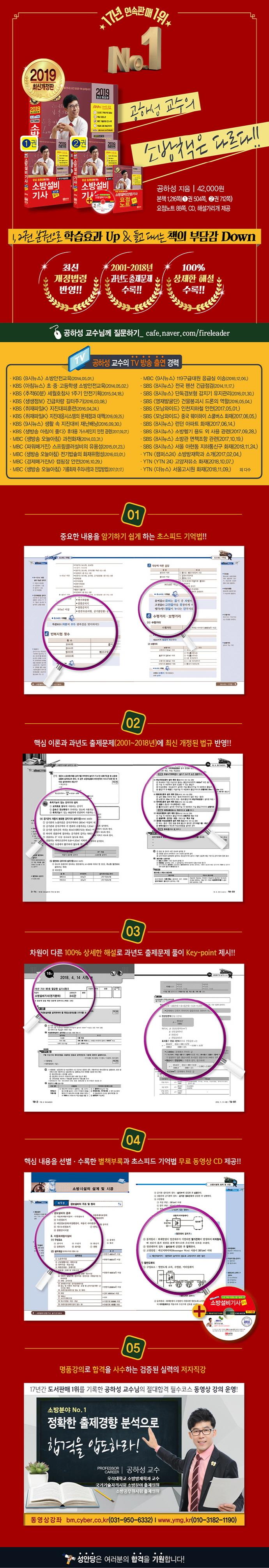 소방설비기사(전기4) 실기(2019)(무료 동영상이 있는)(CD1장포함) 도서 상세이미지