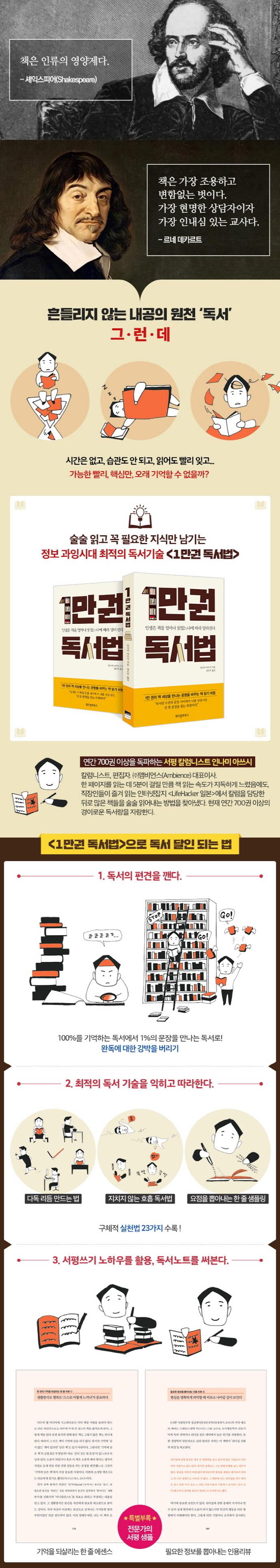 1만권 독서법 도서 상세이미지