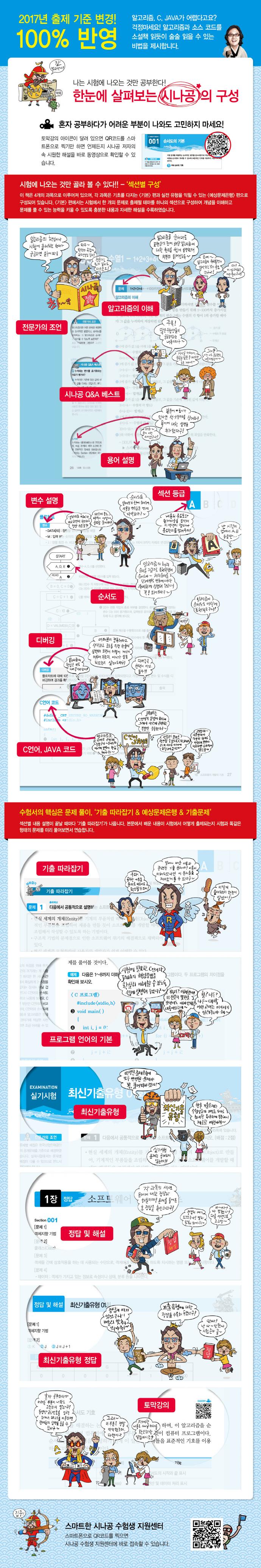 정보처리기사 실기(산업기사 포함)(2017)(시나공) 도서 상세이미지