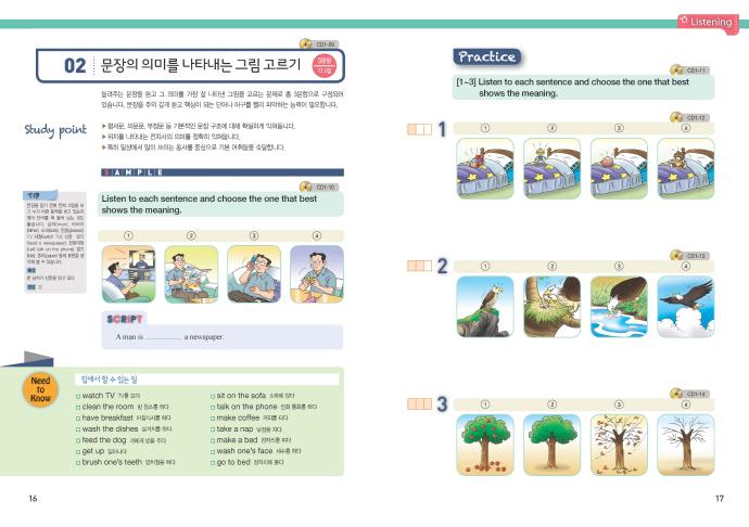 TOPEL Jr. 1급(Level Up)(CD3장포함) 도서 상세이미지