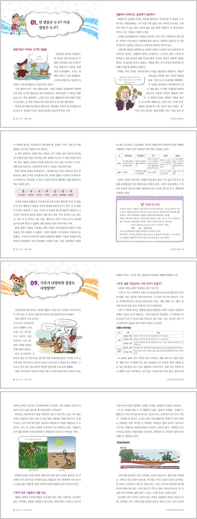 생물 다양성 이야기 33가지(초등학생이 꼭 알아야 할)(초등 필수지식 삼삼 시리즈 25) 도서 상세이미지