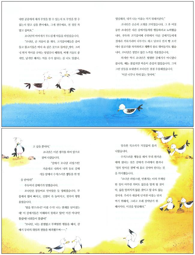 갈매기의 꿈(어린이용) 도서 상세이미지