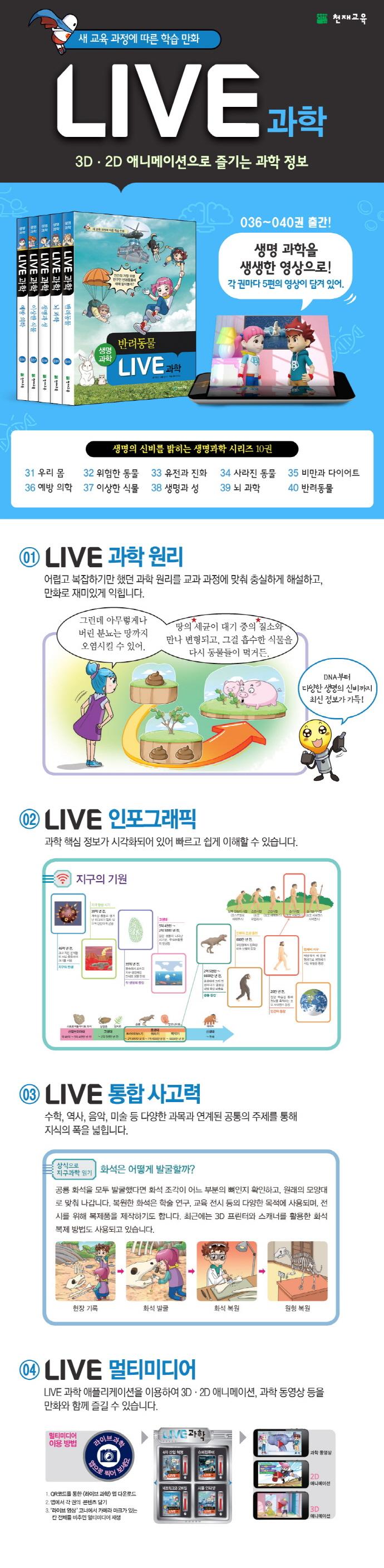 Live 과학. 39: 뇌 과학(양장본 HardCover) 도서 상세이미지