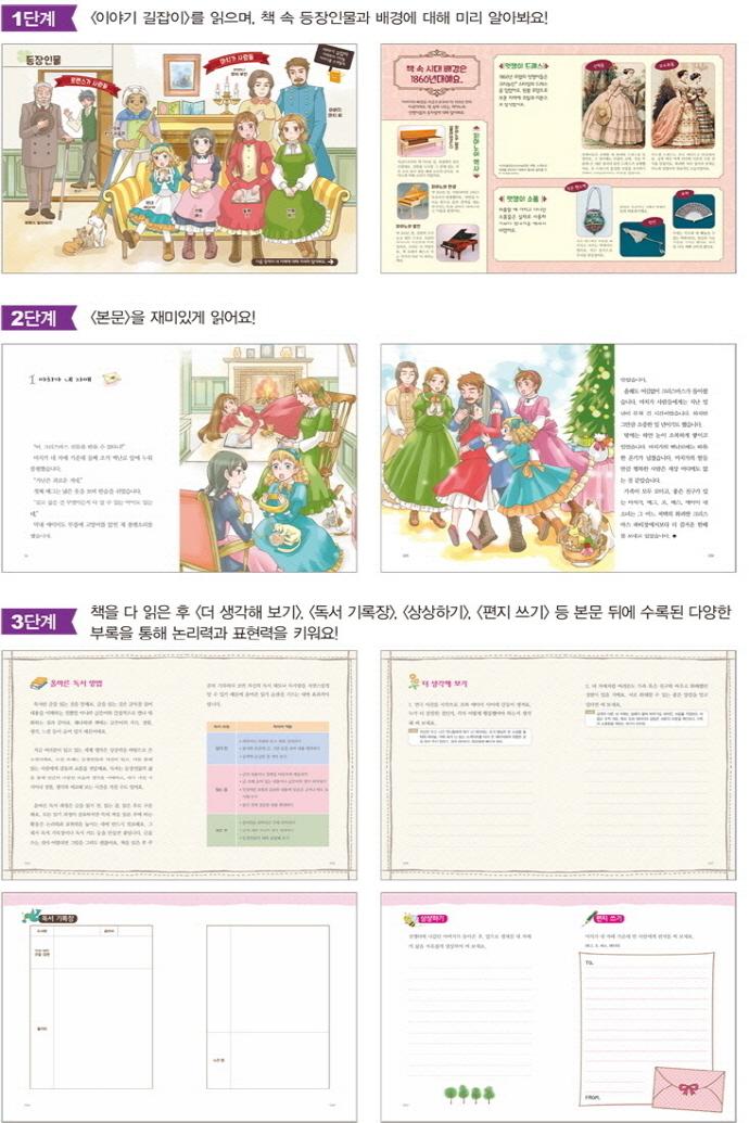 작은 아씨들(초등학생을 위한 세계명작 3) 도서 상세이미지