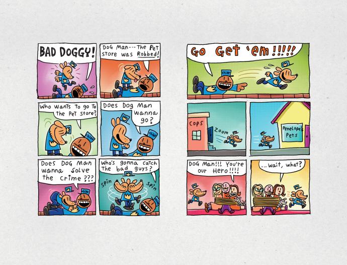 Dog Man Unleashed (Dog Man #2) 도서 상세이미지