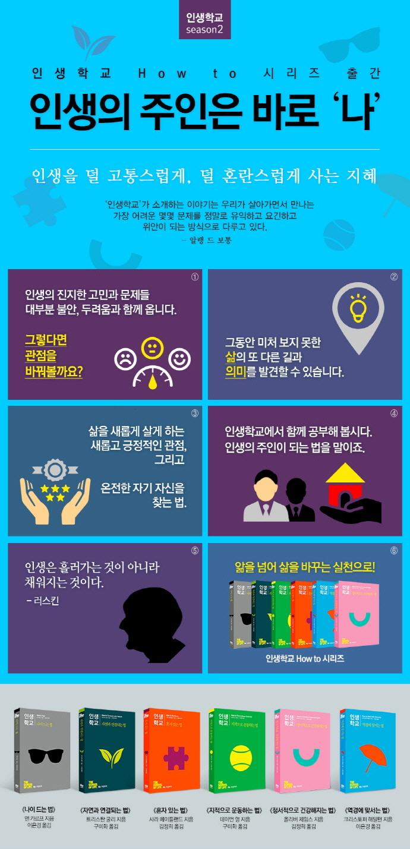 인생학교 how to 시리즈 세트(전6권) 도서 상세이미지