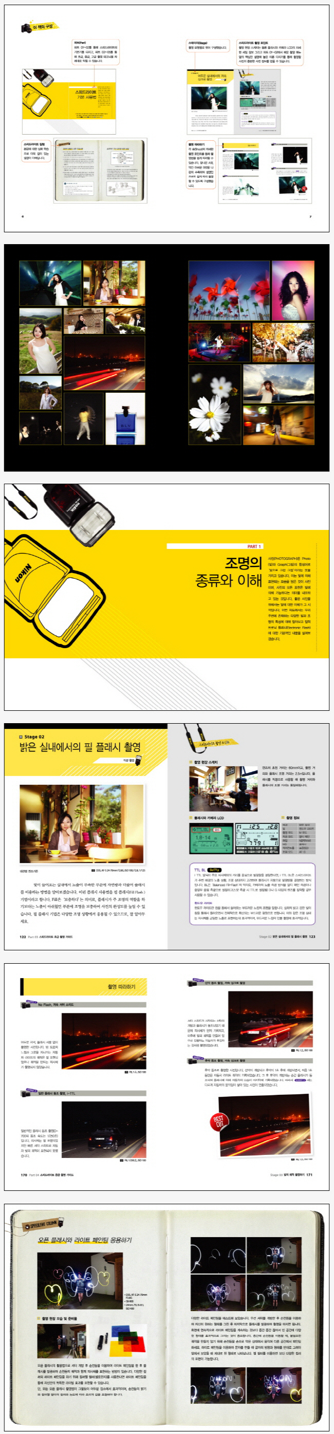 공식 스피드라이트 가이드 북(니콘 포토스쿨) 도서 상세이미지