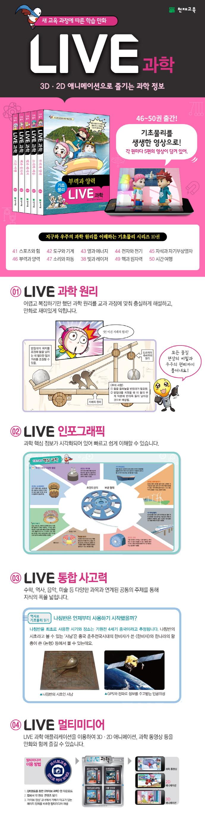 Live 과학. 50: 시간 여행(양장본 HardCover) 도서 상세이미지
