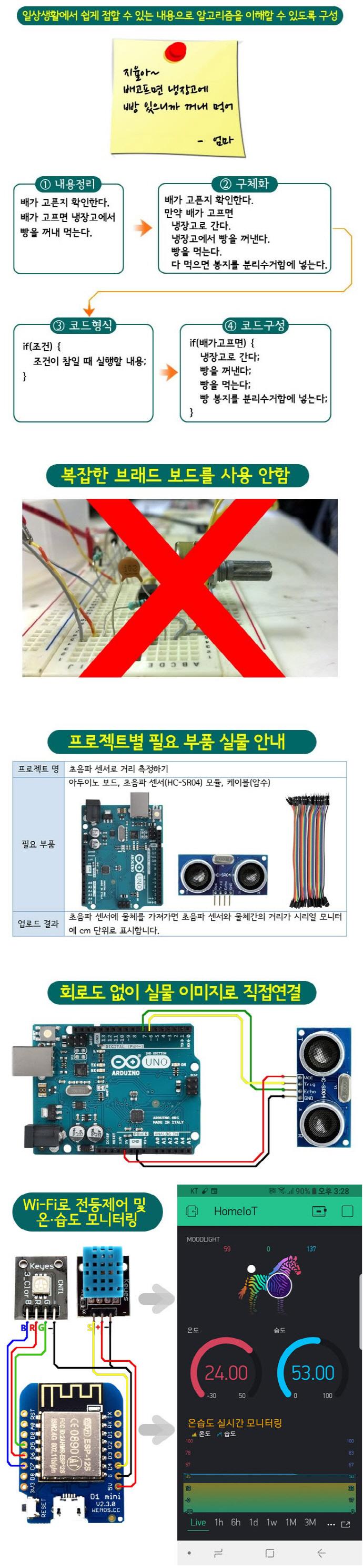 아두이노(Arduino)(상상을 현실로 만드는)(개정판) 도서 상세이미지