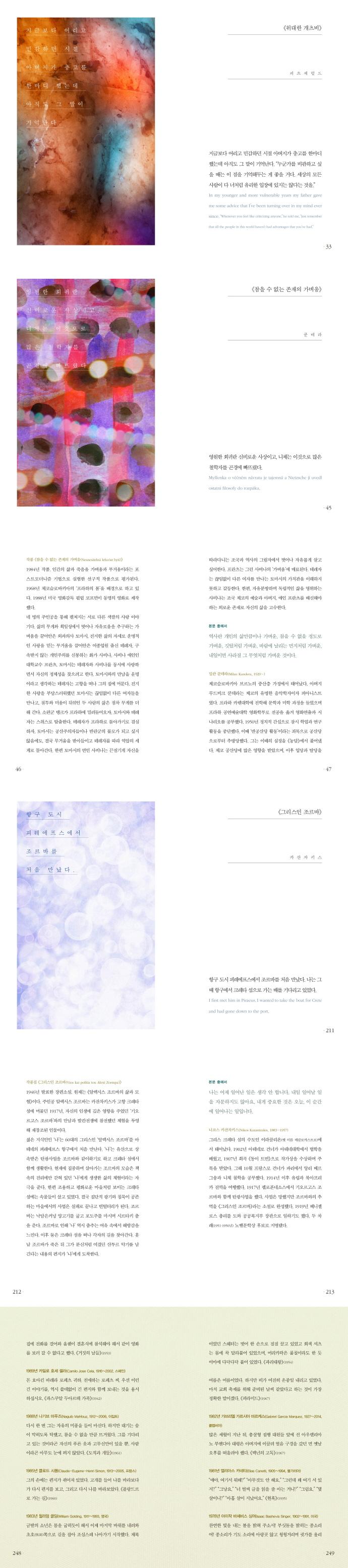 한국인이 사랑한 세계 명작의 첫 문장(반양장) 도서 상세이미지