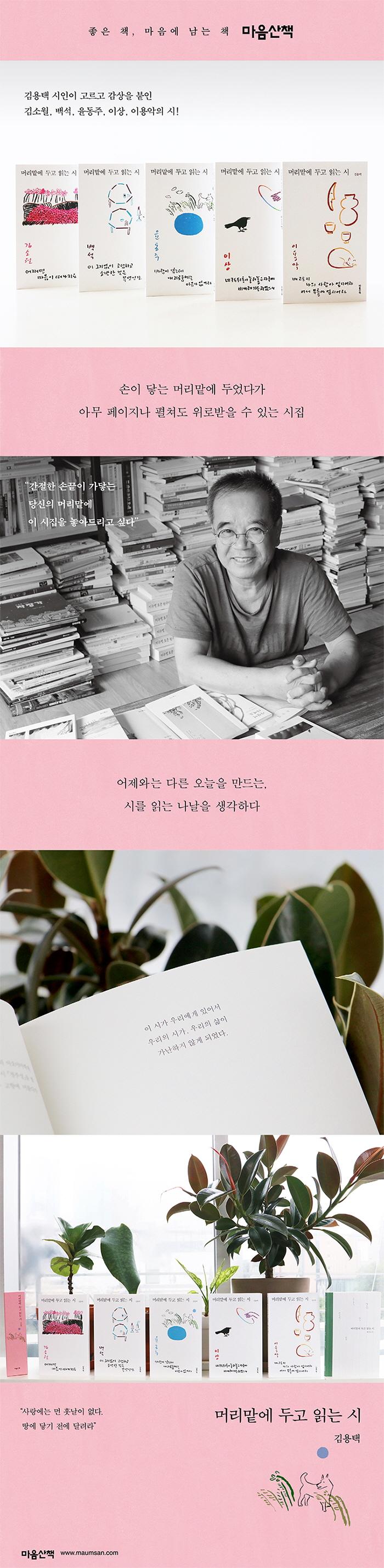 머리맡에 두고 읽는 시: 김소월 도서 상세이미지