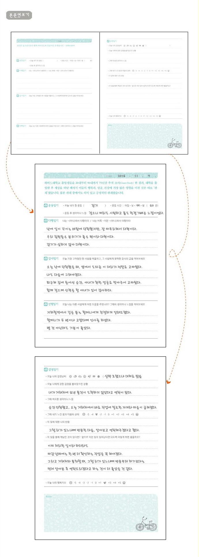 행복일기(최성애 박사와 함께하는)(양장본 HardCover) 도서 상세이미지