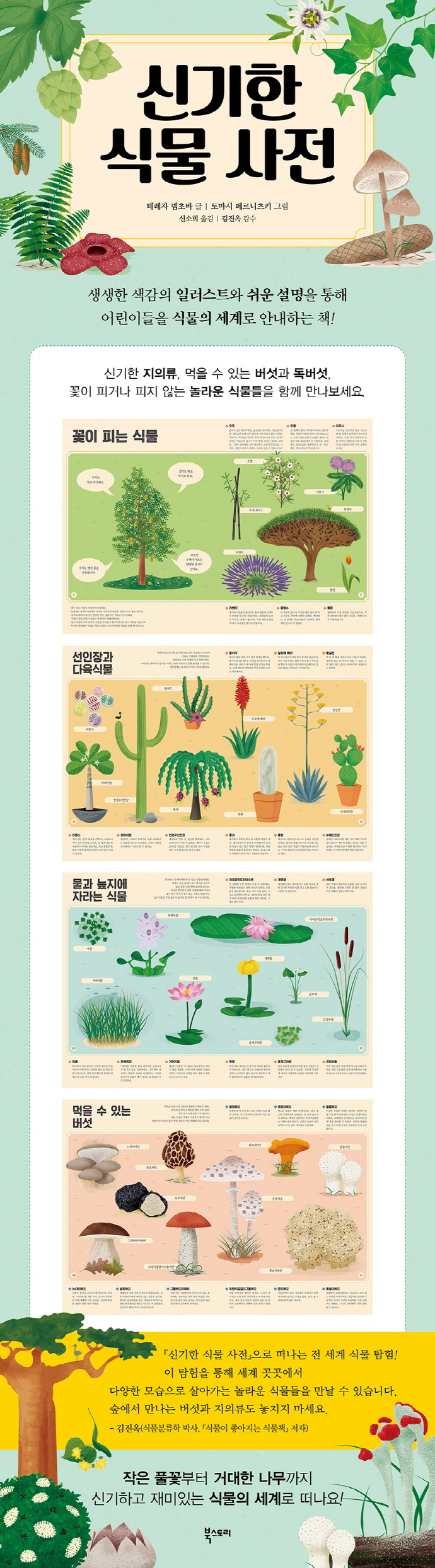 신기한 식물 사전(양장본 HardCover) 도서 상세이미지