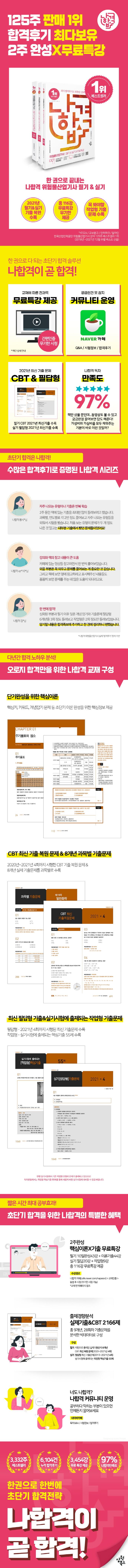 위험물산업기사 필기+실기+무료동영상(2021)(나합격)(전3권) 도서 상세이미지