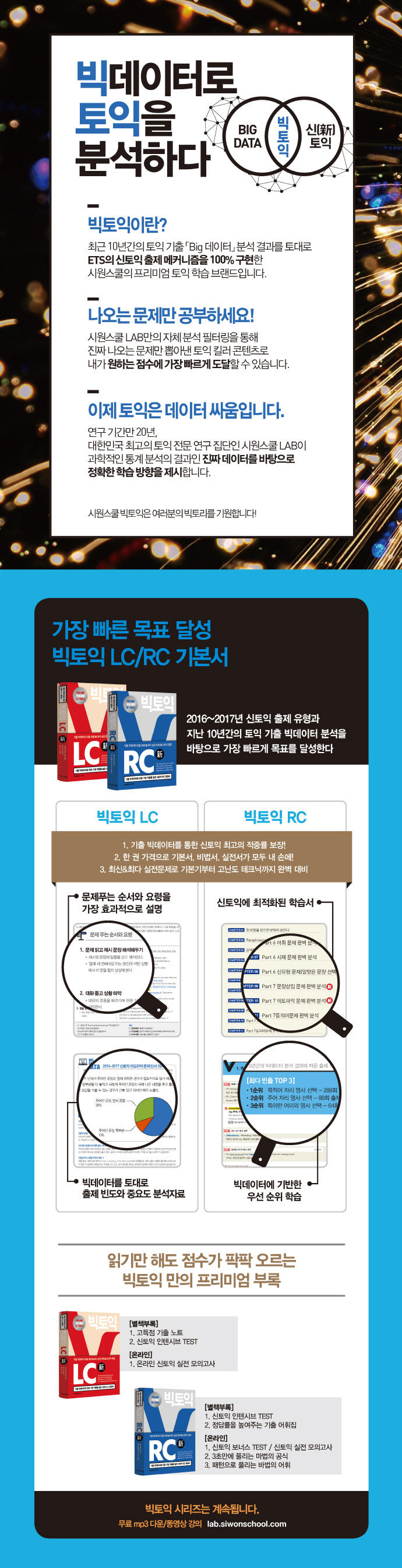 빅토익 LC(시원스쿨랩(LAB)) 도서 상세이미지