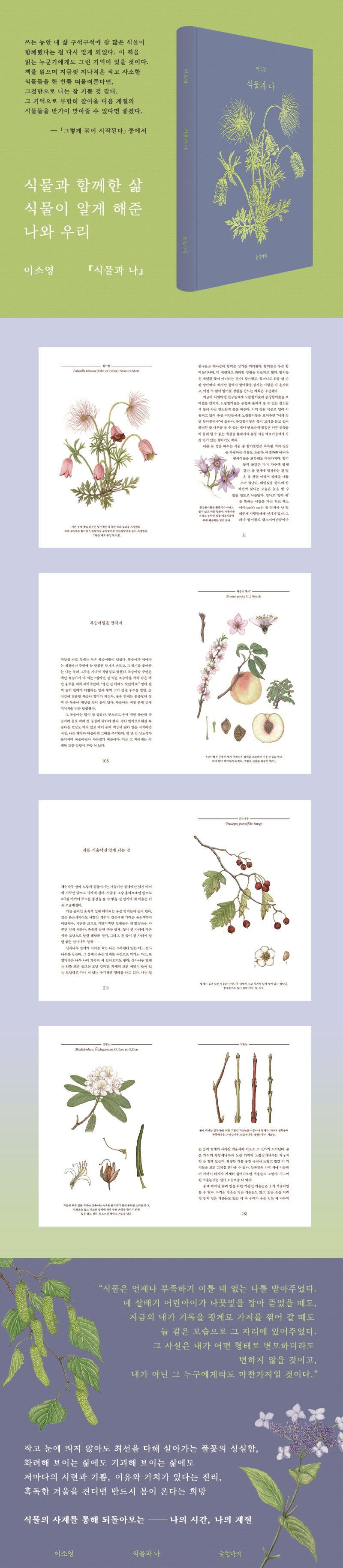 식물과 나(양장본 HardCover) 도서 상세이미지