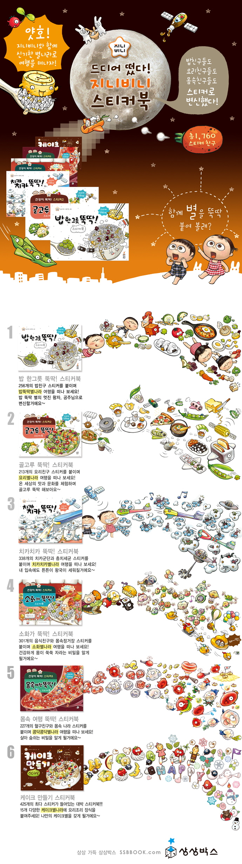 지니비니 스티커 시리즈 전6권 세트(전6권) 도서 상세이미지