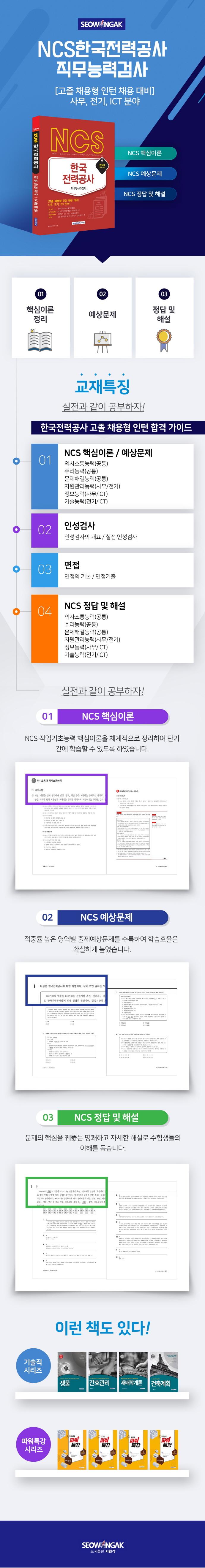 한국전력공사 직무능력검사(2020)(NCS) 도서 상세이미지