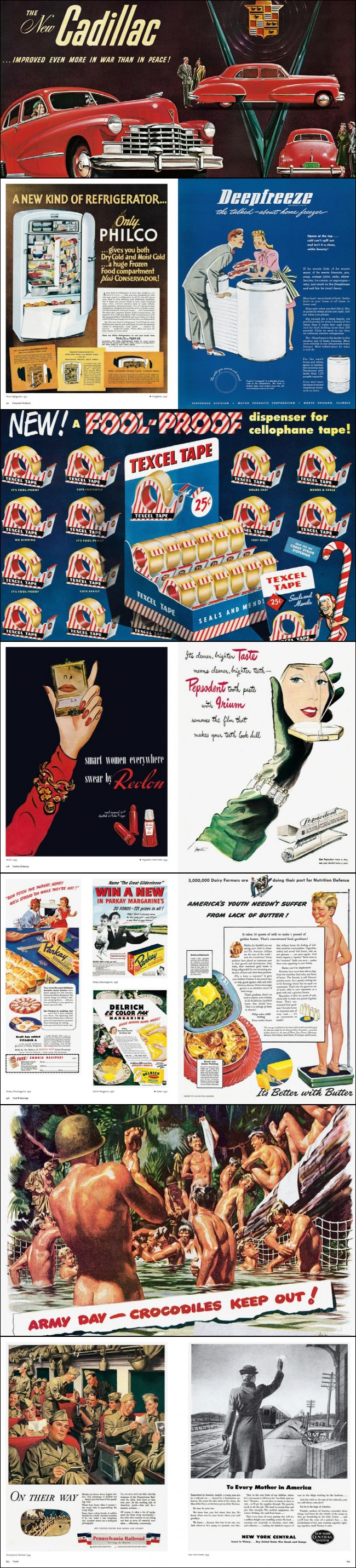 All-American Ads of the 40s 도서 상세이미지