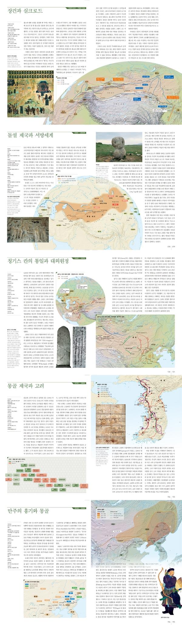 아틀라스 중앙유라시아사(Historical Atlas Series 5)(양장본 HardCover) 도서 상세이미지