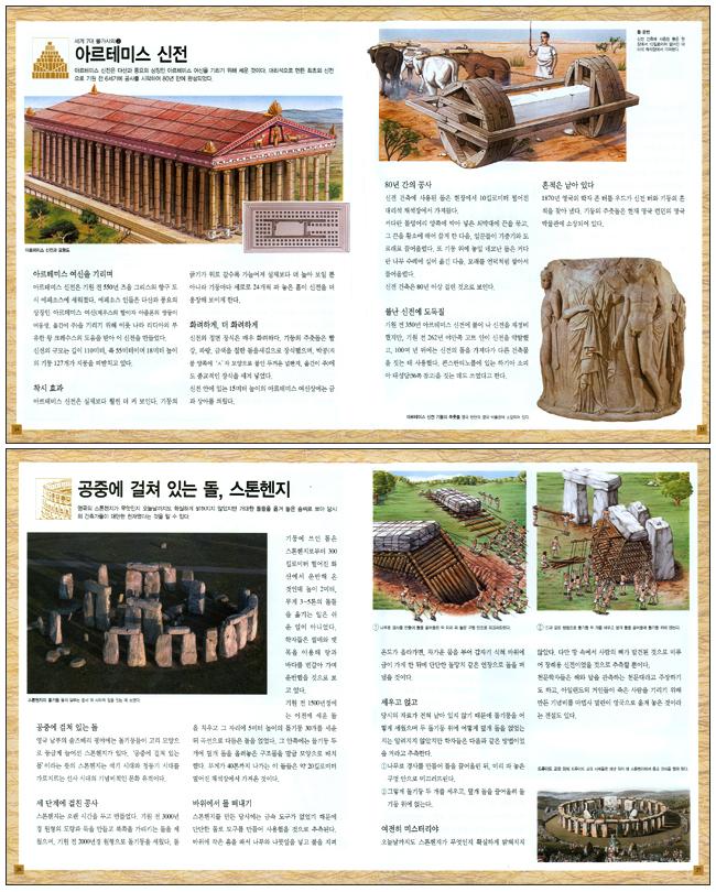 위대한 건축의 역사(IMAGIA 사진과 그림으로 보는 세계사 백과 1)(양장본 HardCover) 도서 상세이미지