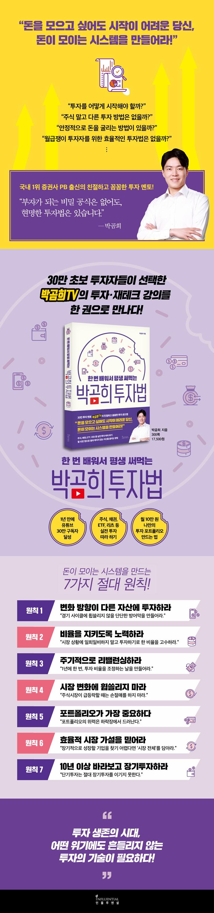 박곰희 투자법(한 번 배워서 평생 써먹는) 도서 상세이미지