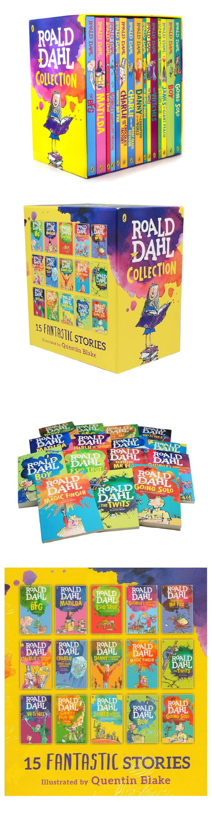 Roald Dahl 로알드달 베스트 15종 박스 세트 (Paperback) 개정판 도서 상세이미지